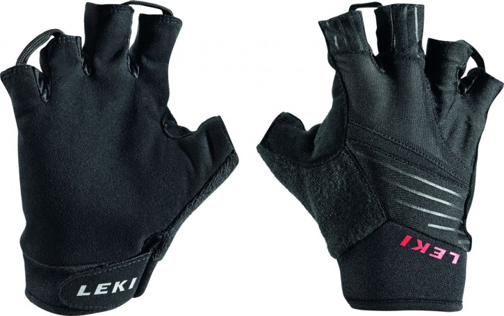 Leki Nordic Walker Kurzfinger Handschuhe Multi light short